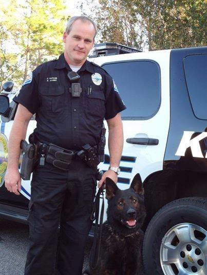 K9 Officer Nanuk joined Gulf Shores Police Department in 2013. His handler was Command Sergeant Joe Taylor.