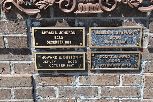 Deputy Abram S. Johnson, great uncle of former Baldwin County Sheriff Jimmy Johnson, has been added to the list of four Sheriff's deputies killed in the line of duty.