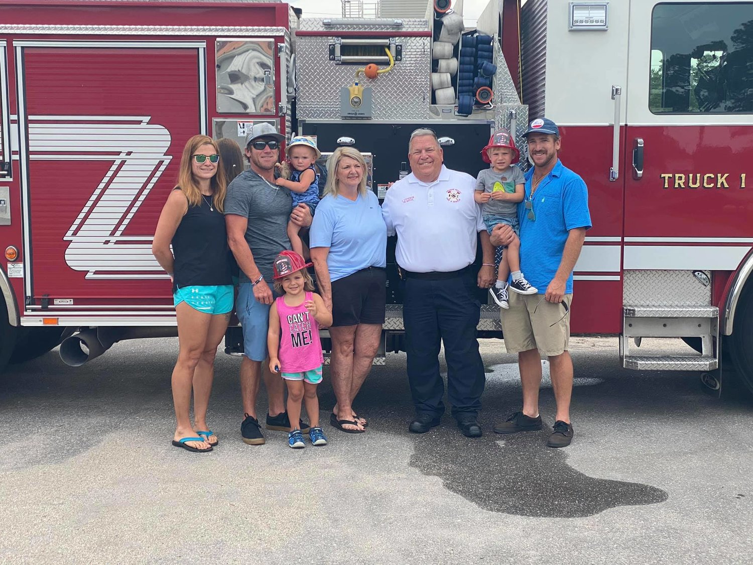 After 21 years of service to the City of Orange Beach, Fire Marshal Craig Stephenson received a surprise send-off that left him without words.