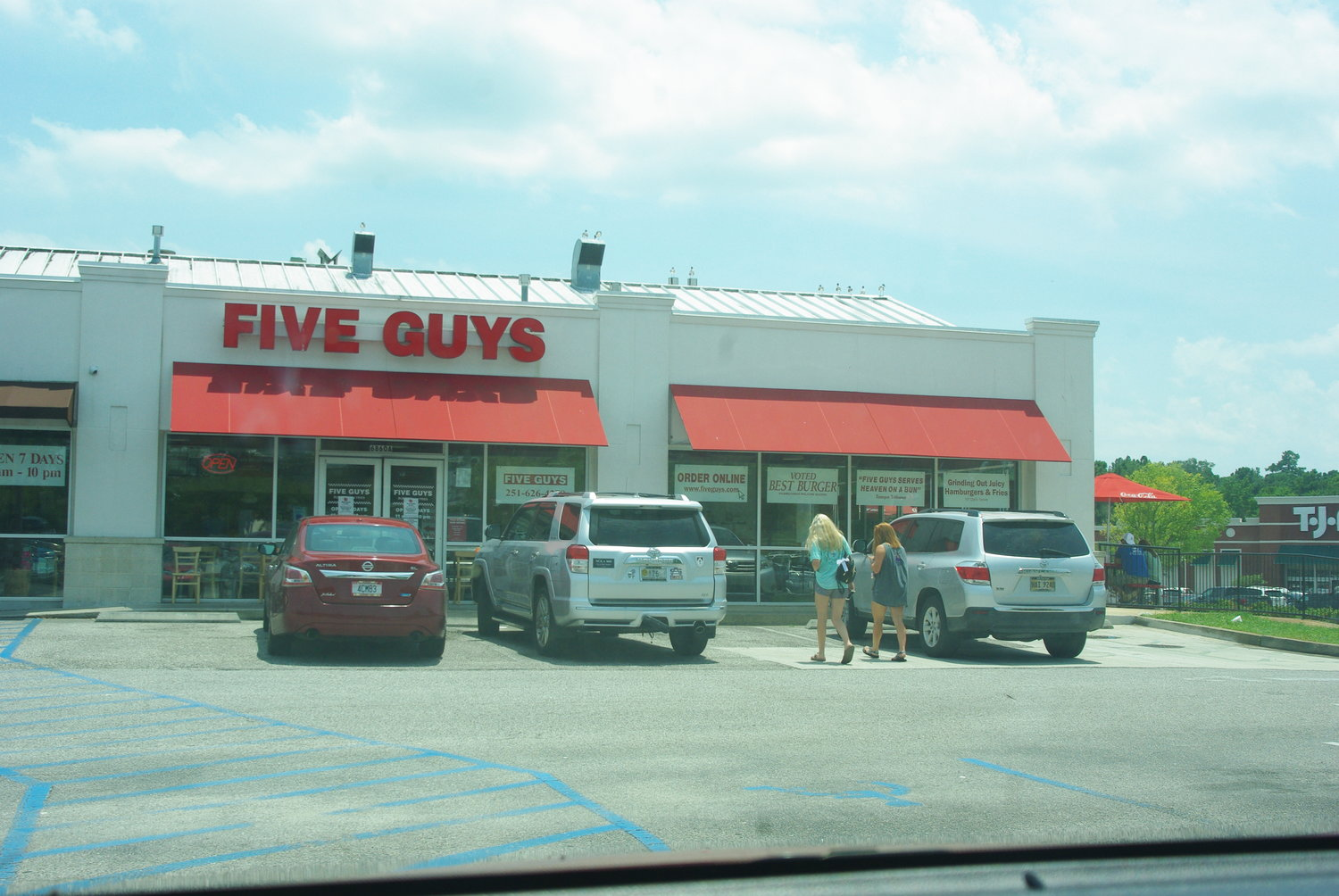 Several employees of the Five Guys restaurant were fired or suspended after refusing to serve police earlier this month.