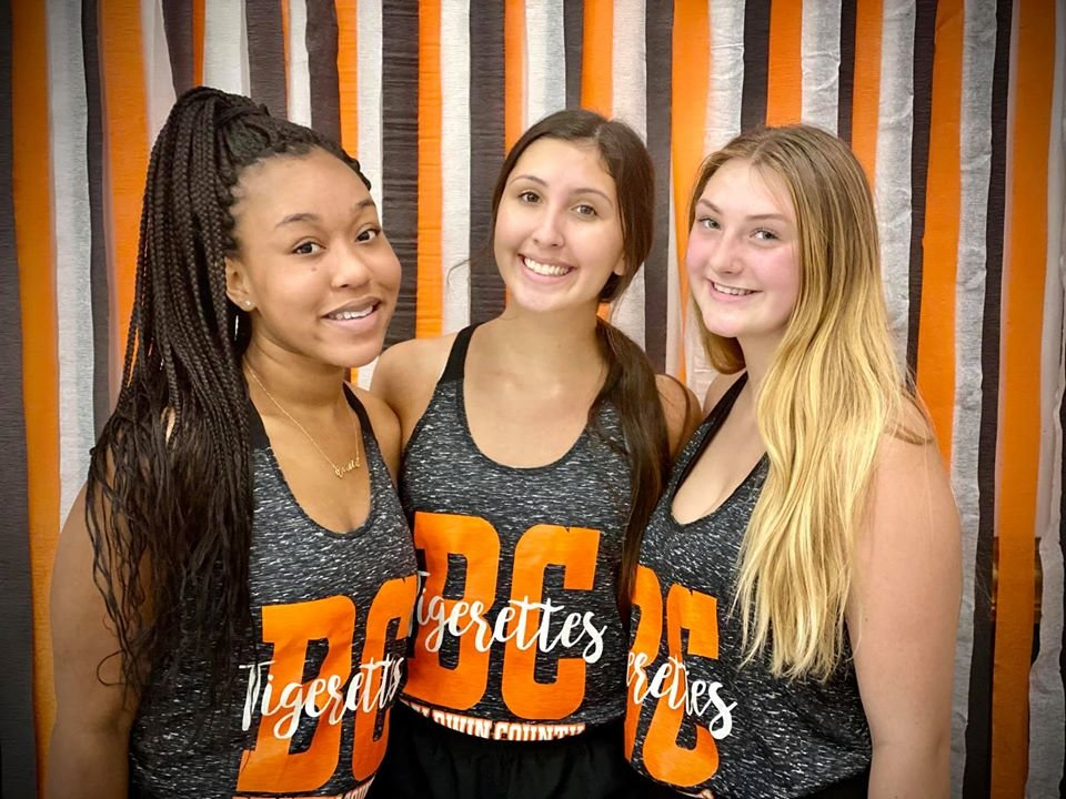 BCHS Tigerettes' Team Captains