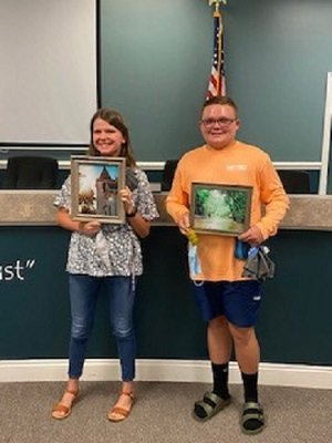 Town presents photography contest winners at July 20 council