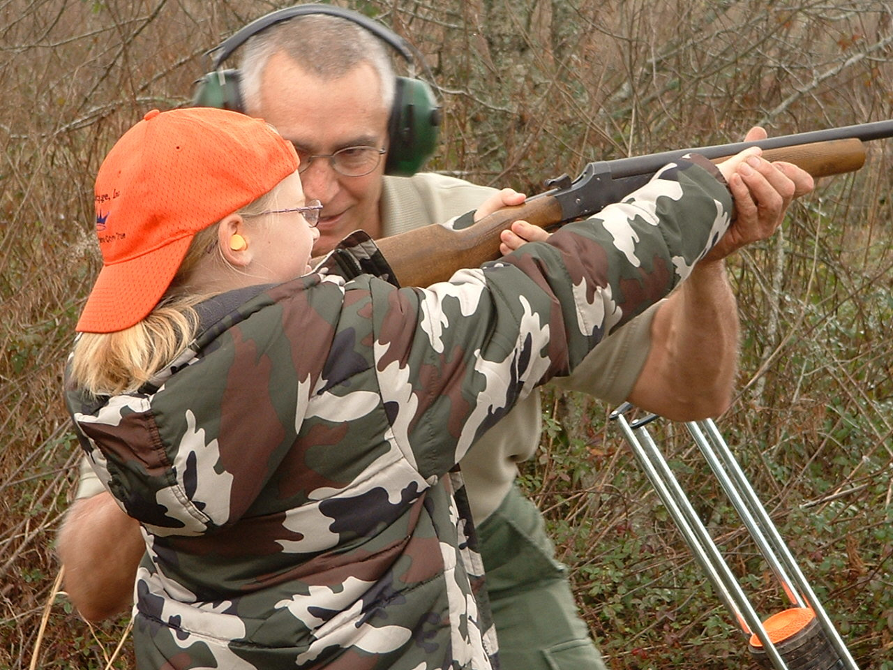 The Dove Hunt and Clay Shoot is open to children ages eight to 15 years old.