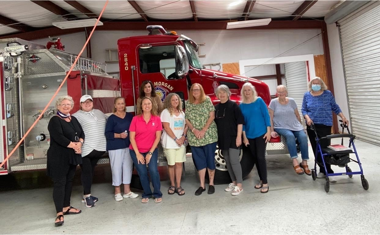 The ladies auxiliary raised over $3,000 thanks to the generous support from the community of Fort Morgan.