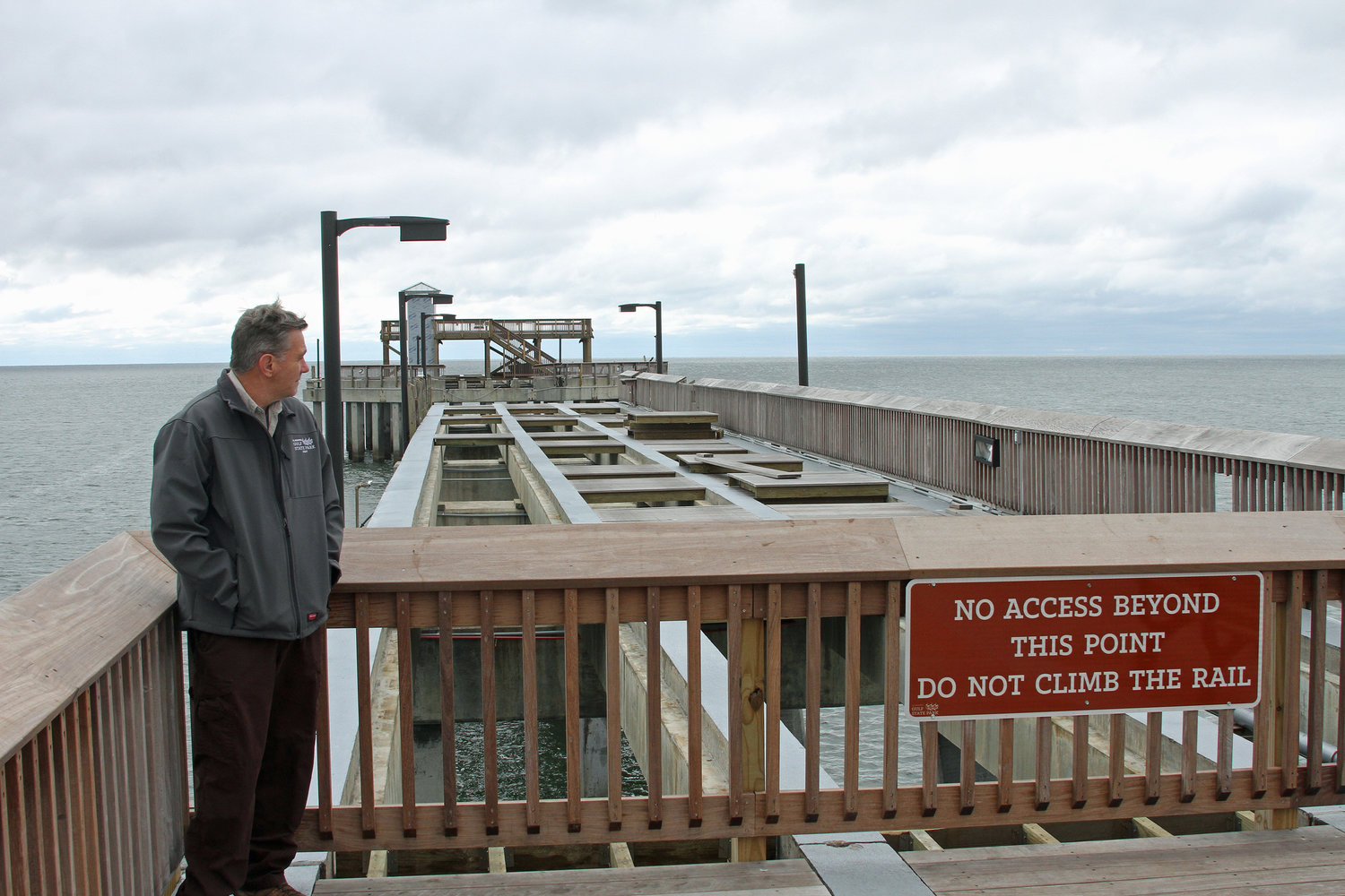 Alabama State Parks' Lamar Pendergrass said engineers are working on the plan to completely restore the pier as soon as possible.