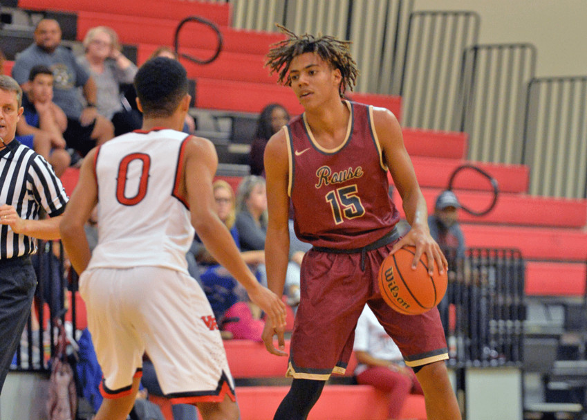 Trevor Berry and Rouse have shifted to a new, guard-based offense this season which relies more on shooting. The Raiders have hit 30 3-pointers in their last two games.