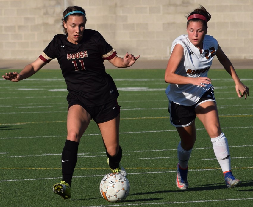 Julia Loza scored one goal and had one assist for Rouse last season. The Raiders went undefeated in district play and made it to the state semifinal.