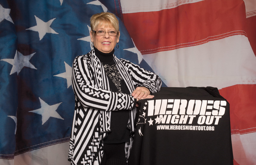 Judy Pierce and her husband run Heroes Night Out, an organization that hopes to make the transition from military to civilian life a little easier.
