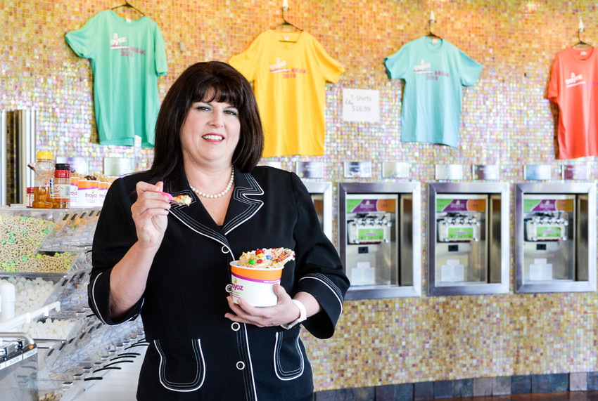 Baty's love of frozen yogurt led her to add small business owner to her already impressive title of chief nursing officer at Cedar Park Medical Center.