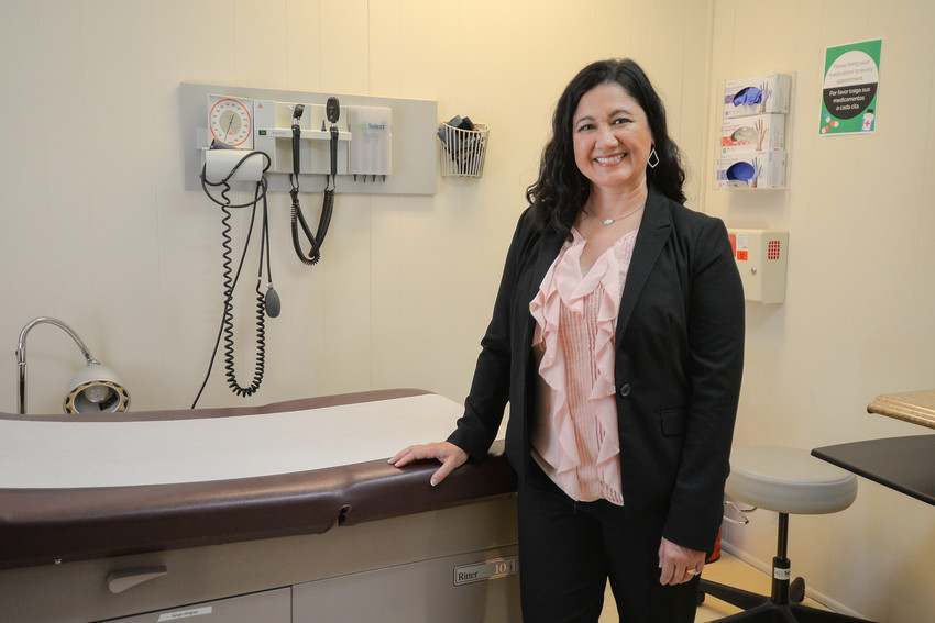 Erika Pratt, executive director of Samaritan Health Care, brings her passion for helping people to providing health care services to the uninsured.