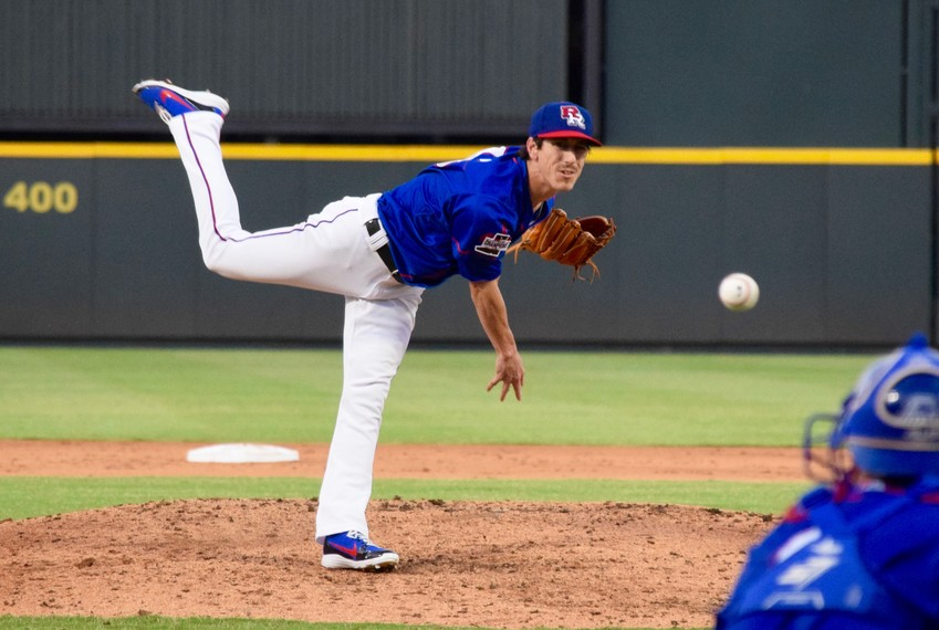 Tim Lincecum pitched two innings and gave up one run on no hits with a pair of walks, but the Express fell to Sounds 8-6 on Thursday night.