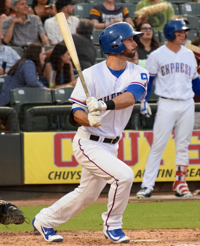 Nick Noonan picked up the first hit in two of the four games against the Fresno Grizzlies. The Express lost 5-3 on Tuesday and dropped all four games in the series.