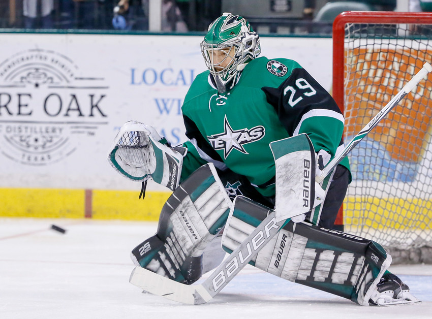 Mike McKenna signed a one-year, two-way contract with the Ottawa Senators after playing a key role in helping the Texas Stars get to the Calder Cup Finals last season.