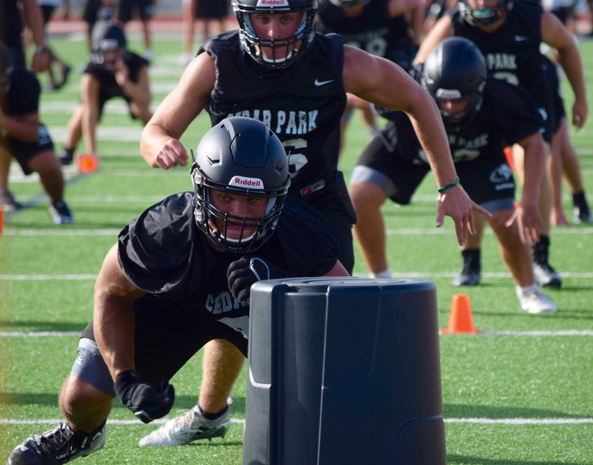 Cedar Park and the rest of Leander ISD football programs started practice on Monday.