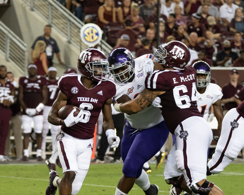 Texas A&M beat up on Northwestern State in the first game of the season on Thursday but will face a much more challenging opponent when Clemson comes to College Sation on Saturday night.