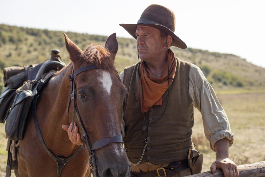 """John C. Reilly plays Eli Sisters in the new film, """"The Sisters Brothers."""""""