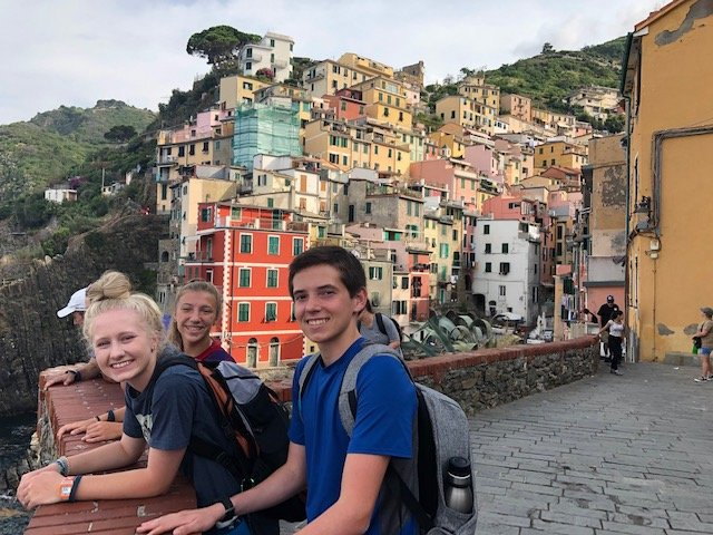 As part of the Traveling Raiders group, Rouse High School students explored the Cinque Terre in Italy during their summer break.