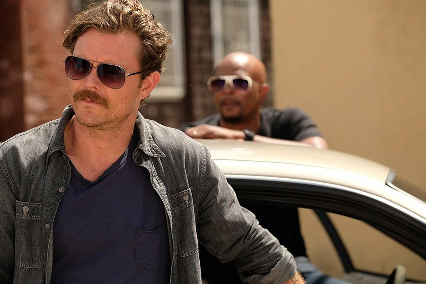 """Clayne Crawford and Damon Wayans in a scene from the """"Lethal Weapon"""" television series. Crawford was fired from the show and his character, Martin Riggs, killed off after Season 2."""