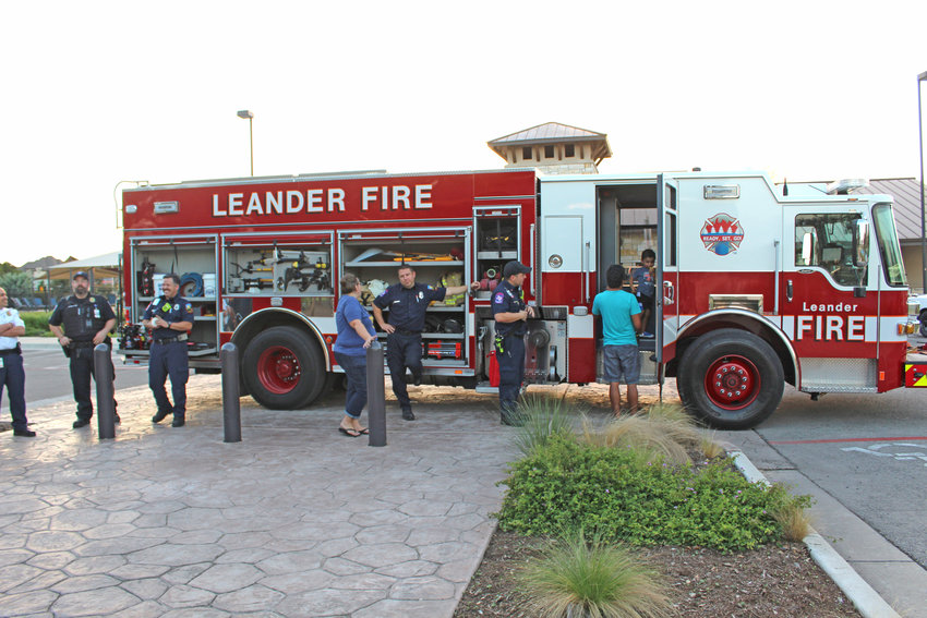 """During Fire Prevention Week, Oct. 7 through Oct. 13, the Leander Fire Dept. is encouraging citizens to """"Look. Listen. Learn."""""""