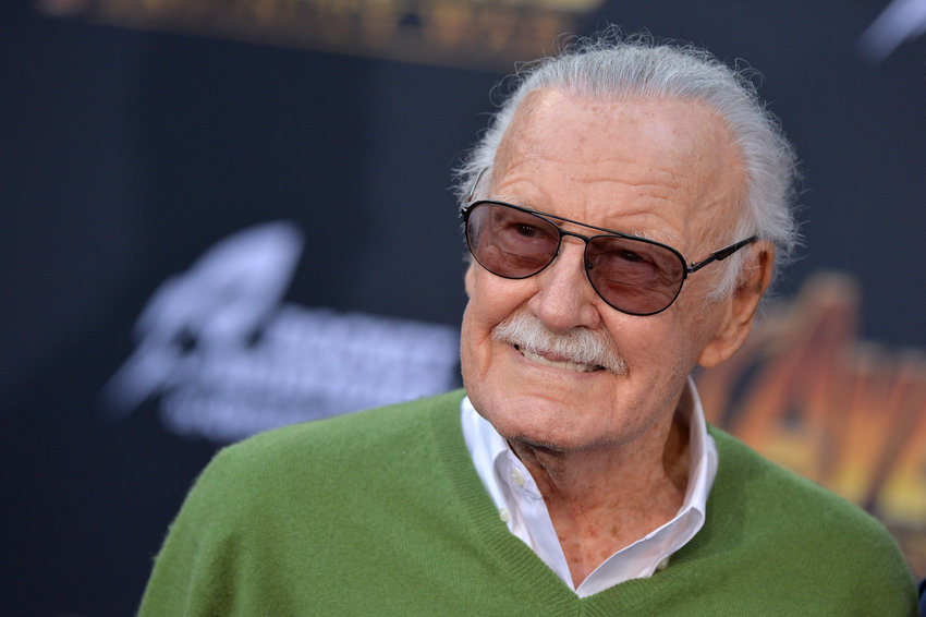 "Stan Lee attends the world premiere of ""Avengers: Infinity War"" on April 23, 2018 in Los Angeles, Calif. (Lionel Hahn/Abaca Press/TNS)"