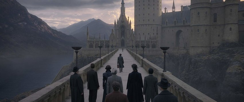 "The Harry Potter spinoff series makes its way to Hogwarts in ""Fantastic Beasts: The Crimes of Grindelwald."""