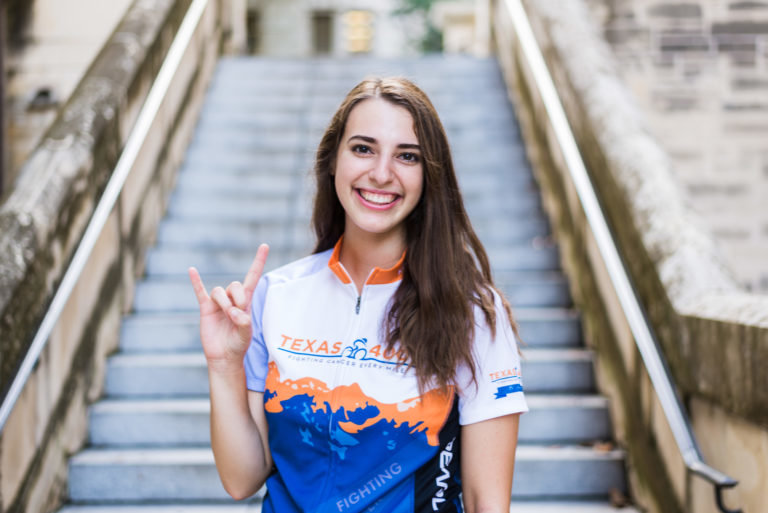 Former Vandegrift High School student and current University of Texas student Maria Krychniak plans to bike the 4,000 miles from Austin to Anchorage, Ak, to raise money for cancer research and support services.