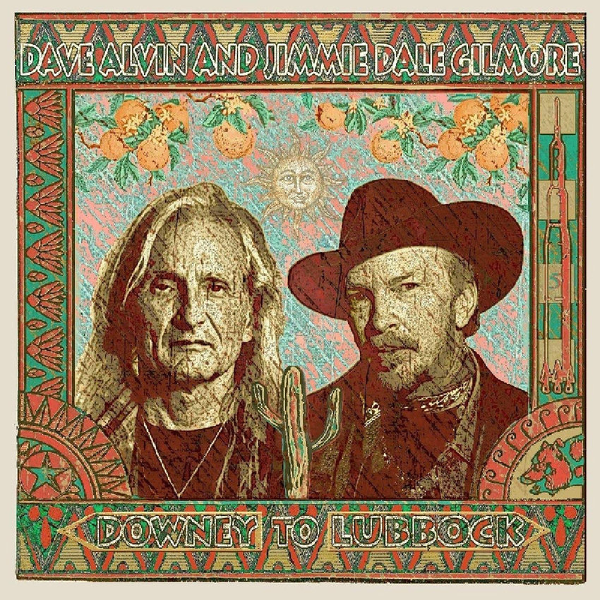 "5. Dave Alvin and Jimmie Dale Gilmore, ""Downey to Lubbock"" (Yep Roc Records)"