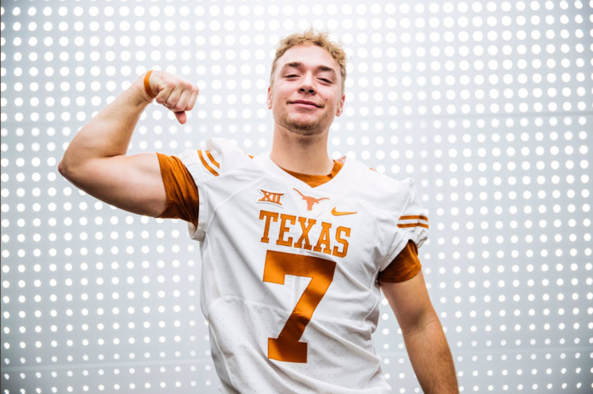Glenn tight end Nate Hatter accepted a preferred walk-on at the University of Texas.