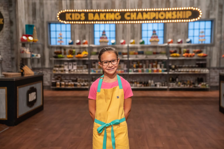 Contestant Madison Totaro poses for a photo, as seen on Kids Baking Championship, Season 6.