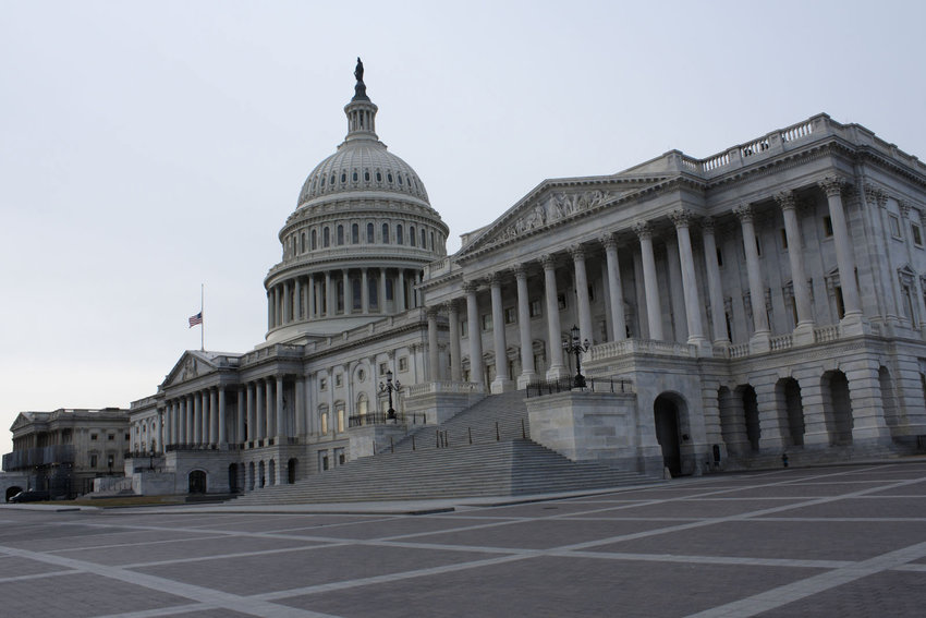 The United States Capitol Building in Washington, D.C., on Dec. 25, 2018.