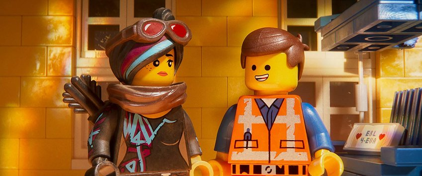 "Elizabeth Banks and Chris Pratt star in ""The Lego Movie 2: The Second Part."""