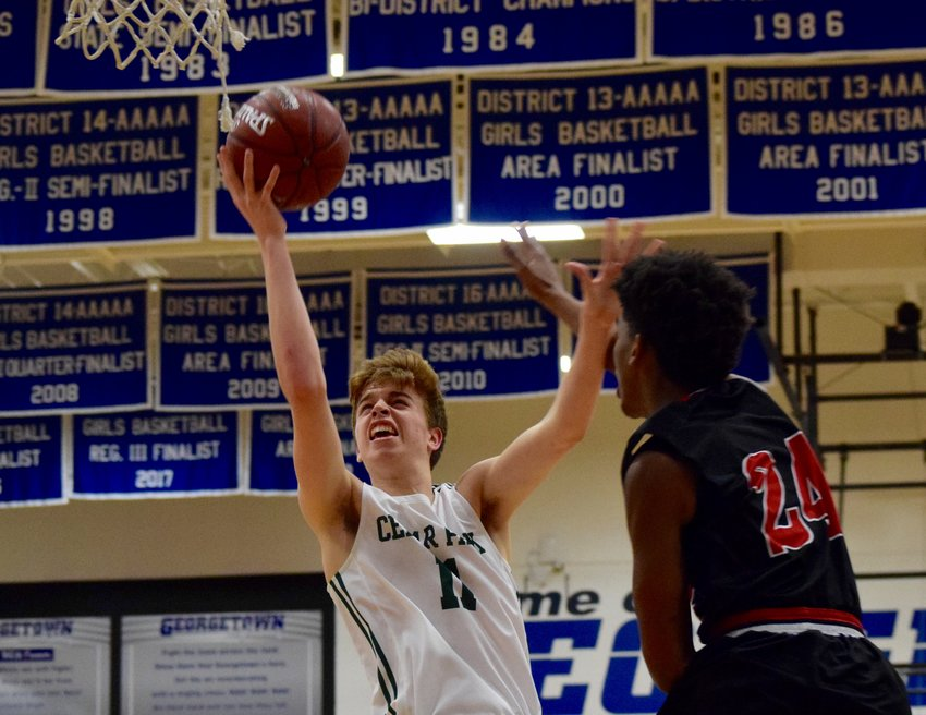 Josh Baker scored eight points, but Cedar Park lost to Manor 46-41 in the regional quarterfinals Tuesday night at Georgetown High School.