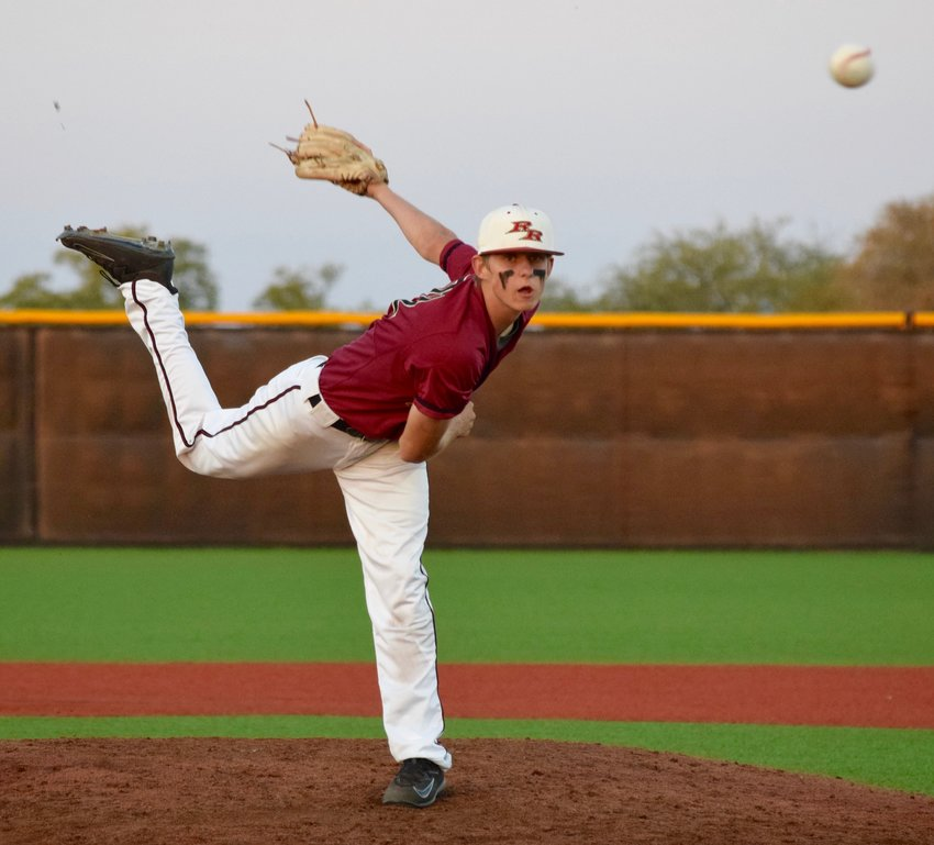 Rouse's Connor Bennett pitched the second half of the game and contributed offensively during the Raiders' monster fourth inning to help them beat Glenn 18-2 on Wednesday night.
