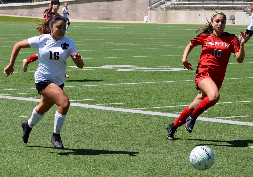Alycia Buenaventura and Round Rock lost to Rockwall Heath 3-1 in the regional semifinals Friday afternoon at Kelly Reeves Athletic Complex.