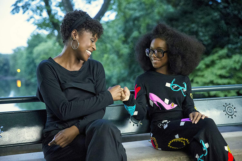 "Issa Rae (left) and Marsai Martin in ""Little."""