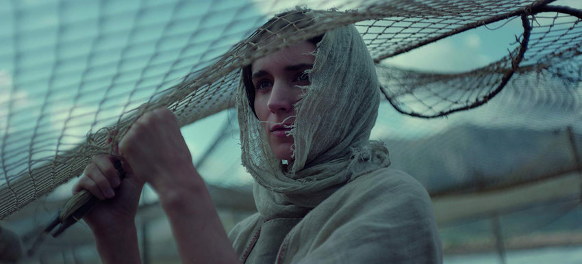 "Rooney Mara in the movie ""Mary Magdalene."""