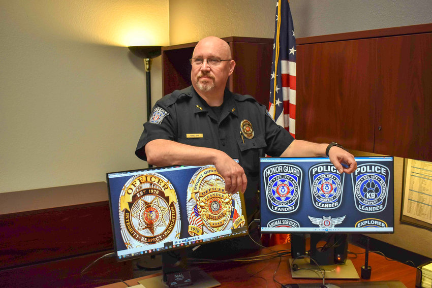 Leander Police Department assistant chief Jeff Hayes will retire after a three-decade Central Texas law enforcement career. Hayes used his talents in illustration to design the patches currently worn by the Austin, Cedar Park and Leander police departments.