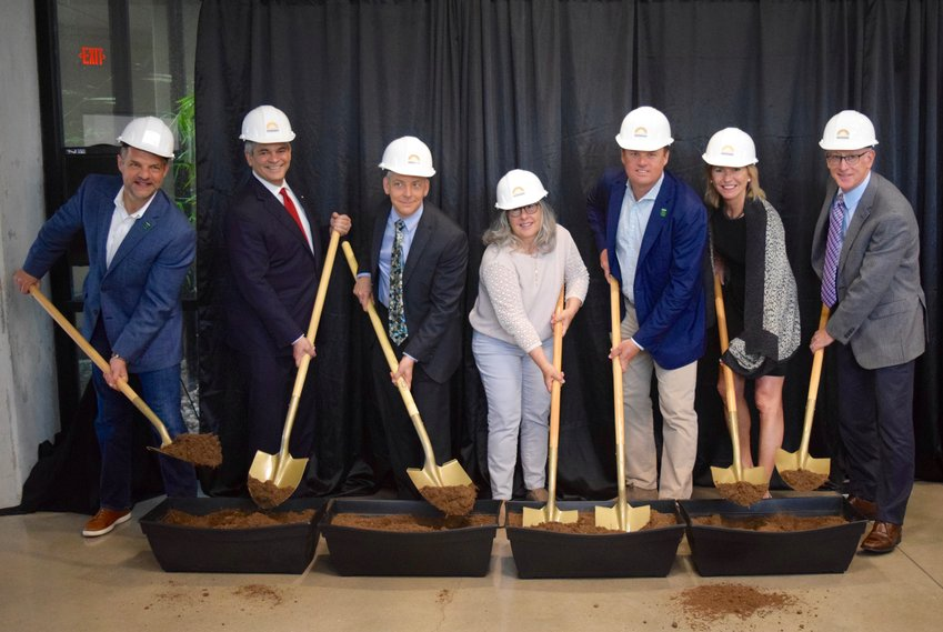Representatives from Austin FC, the City of Austin, Foundation Communities, JPMorgan Chase and Wells Fargo broke ground on the newest affordable housing development last week.