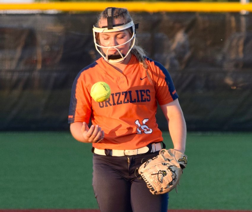 Glenn freshman Rileigh Harris finished with eight strikeouts and hit a two-run home run in the sixth in the Grizzlies loss to A&M Consolidated in the second round of the playoffs on Saturday afternoon.