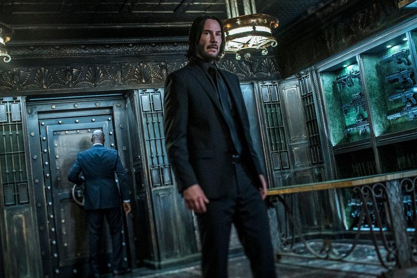 "Keanu Reeves stars as 'John Wick' in ""John Wick: Chapter 3 - Parabellum."""