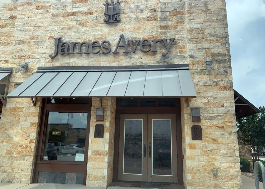The James Avery Artisan Jewelry store in Cedar Park.