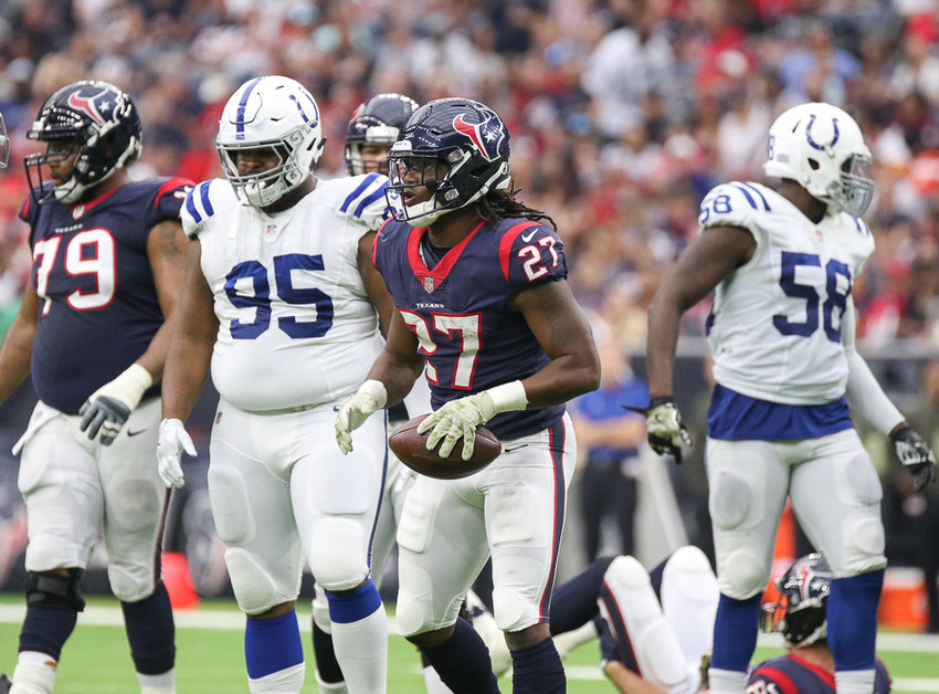 Houston Texans running back D'Onta Foreman tore his Achilles during his rookie season in 2017. After only playing in two games last year, he said he's feeling better than ever entering his third year.