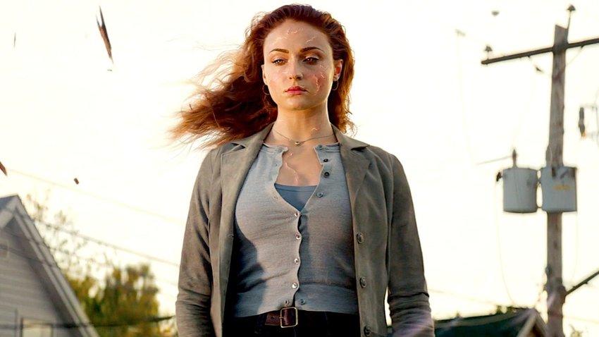 """Sophie Turner as Jean Grey in """"Dark Phoenix."""""""