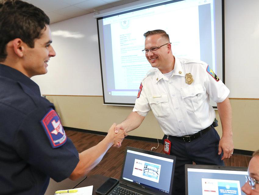 New Leander Fire Chief Billy Wusterhausen