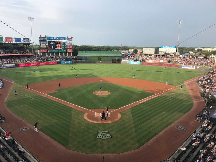 Dell Diamond will host the 2021 Triple-A All-Star game in mid-June. It's the first time the venue has hosted the Triple-A event and previously hosted the Double-A event in 2001 when Round Rock was a member of the Texas League.