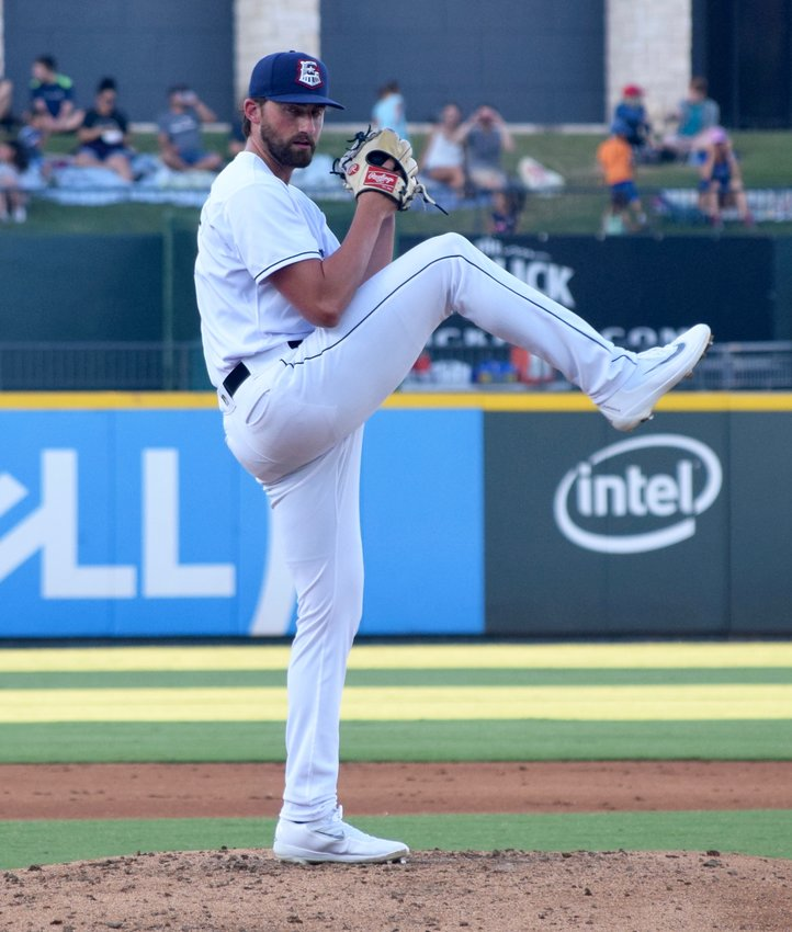 Kent Emanuel won his sixth game on Wednesday night, striking out six as the Express beat the Fresno Grizzlies 6-0.