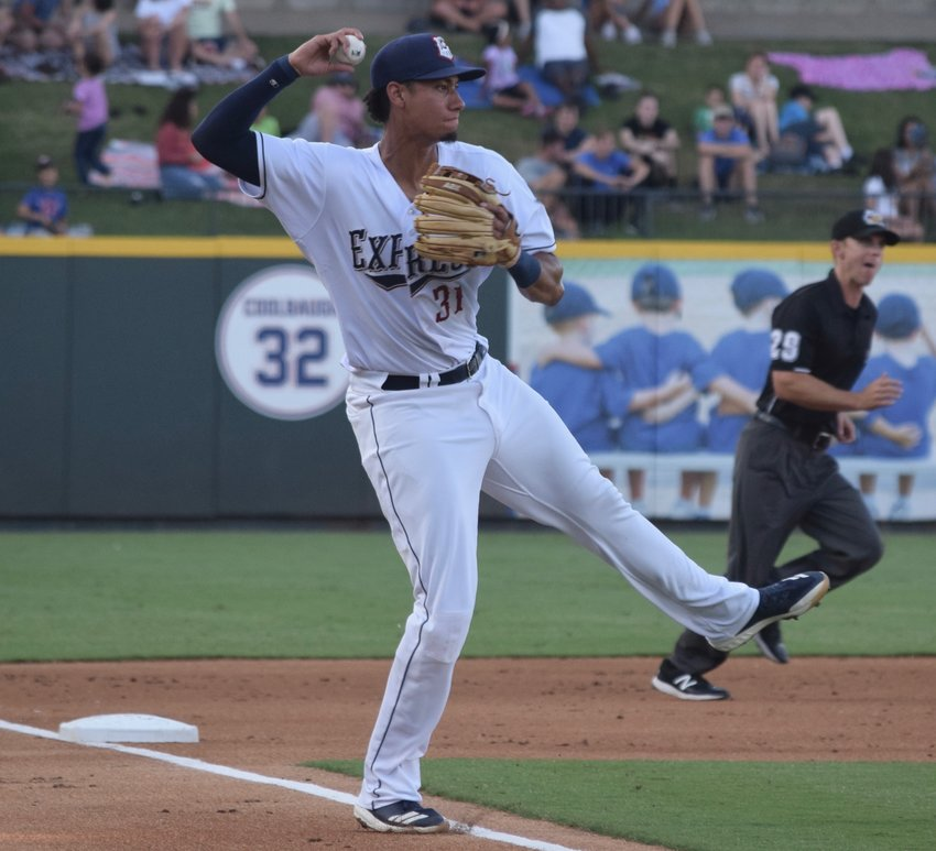 Taylor Jones and the Express lost to the Memphis Redbirds 5-4 on the road on Tuesday night.
