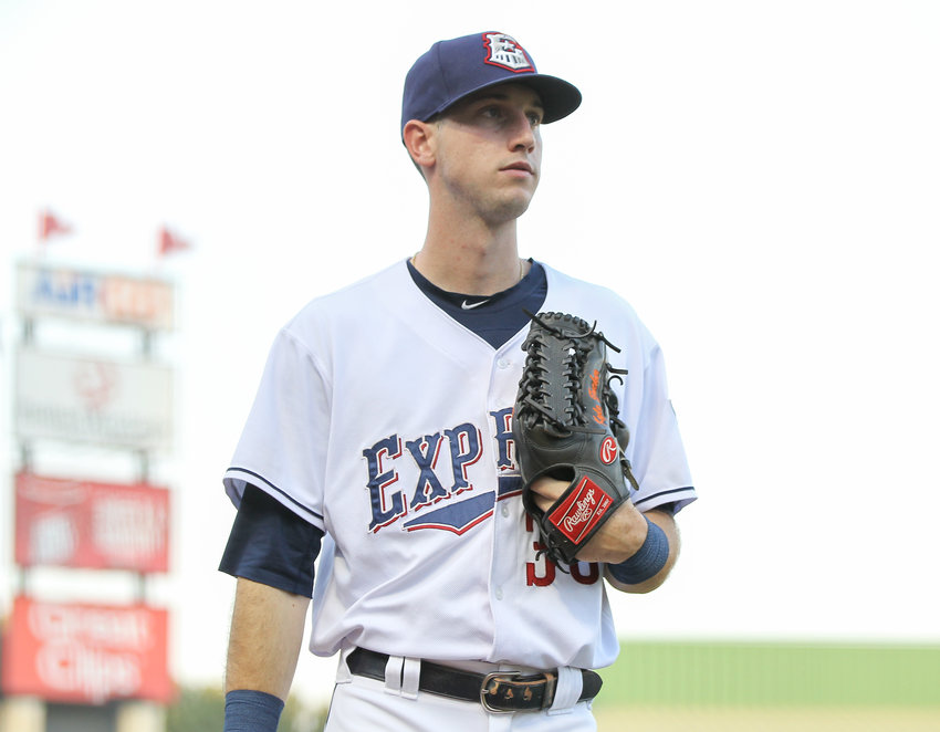 Round Rock Express right fielder Kyle Tucker became the fifth player in the 116-year history of the Pacific Coast League to record 30 home runs and 30 steals.