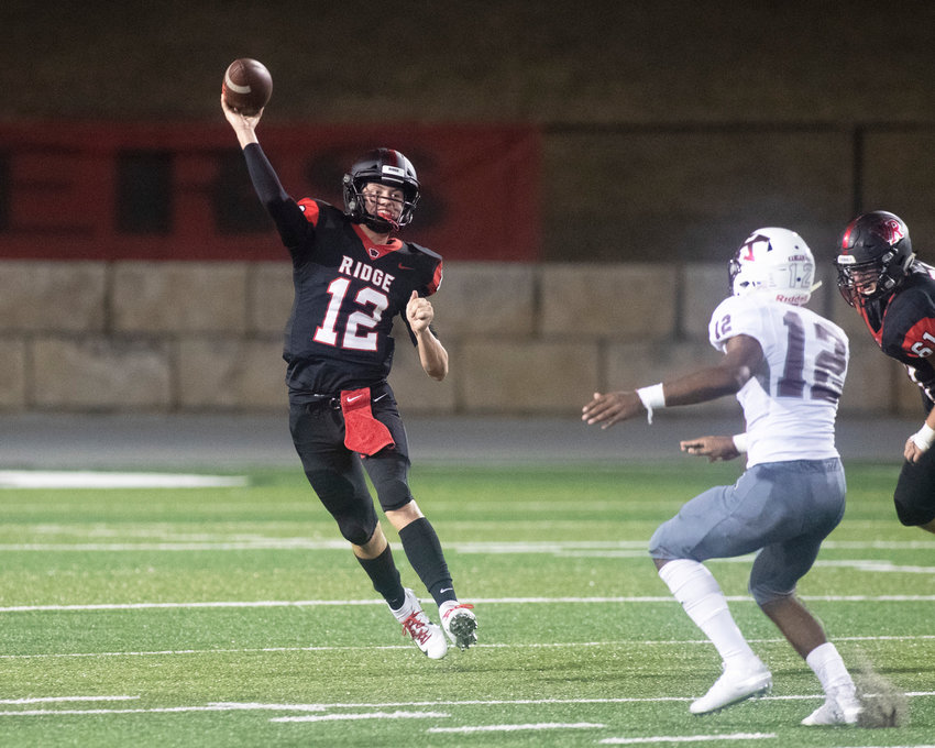 Vista Ridge quarterback Kyle Brown finished 21-for-30 passing for 257 yards and four touchdowns, and rushed 10 times for 50 yards and a pair of scores to help the Rangers dominate Killeen 51-29 Thursday night at Gupton Stadium.