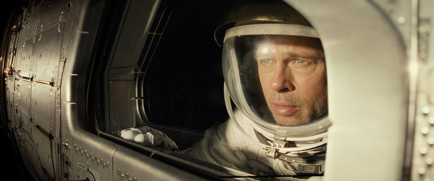 "Brad Pitt stars in the film ""Ad Astra."""